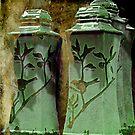 Green jars by NIKULETSH