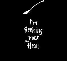 im seeking your heart  by nerddesigns