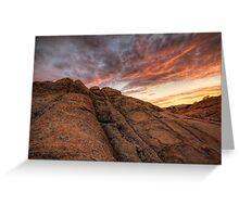 Sunset Dip Greeting Card