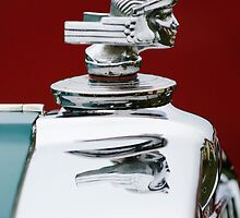 1934 Stutz SV-16 Hood Ornament 2 by Jill Reger