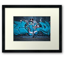 Gumby Goes to Town Framed Print