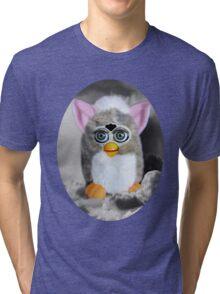 ☀ ツFURBY IN CLOUDS COMING TO LIVE ON EARTH TEE SHIRT (KIDS -ADULT TEES) ☀ ツ Tri-blend T-Shirt