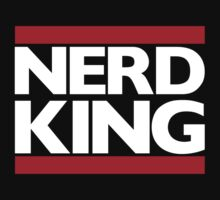 Nerd King King Of Rock Logo by nerdking