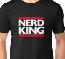 Nerd King King Of Rock Logo Unisex T-Shirt