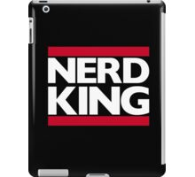 Nerd King King Of Rock Logo iPad Case/Skin