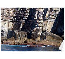 Coastal Cliffs Poster