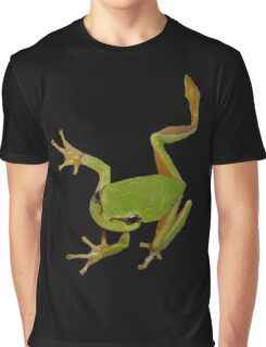 European Green Tree Frog Isolated Graphic T-Shirt