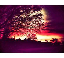 Acid Wash Dark Cycle 2 Photographic Print