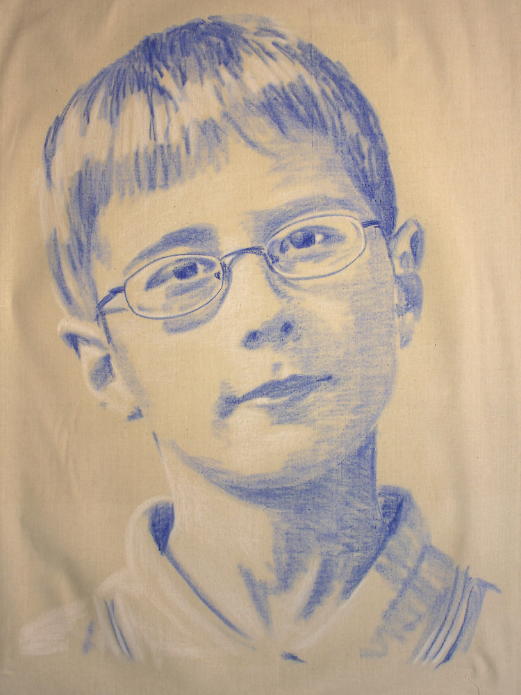 patrick, #1 son, aged ten by Peter Brandt