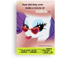 Rarita - Lolita Parody Canvas Print