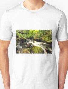 The unidentified stream in Hillerstorp I Unisex T-Shirt