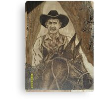Cowhand Riden Canvas Print