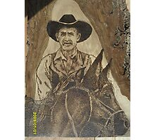 Cowhand Riden Photographic Print
