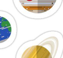 The Solar System Sticker