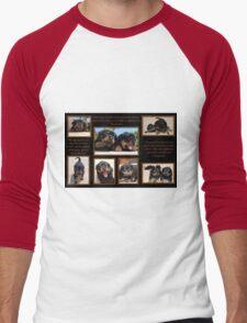 Rottweiler Memories Men's Baseball ¾ T-Shirt