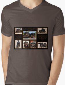 Rottweiler Memories Mens V-Neck T-Shirt