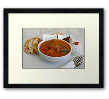 Delightful Dining Framed Print