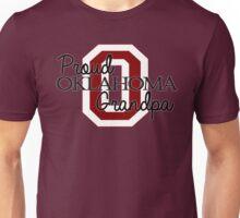Proud Oklahoma Grandpa 2 for Dark Backgrounds Unisex T-Shirt