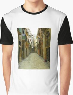 Lost in the alley Graphic T-Shirt