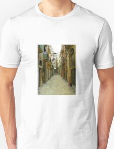 Lost in the alley Unisex T-Shirt
