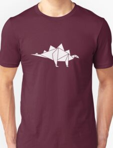 Prehistoric Origami - Stegosaurus T-Shirt