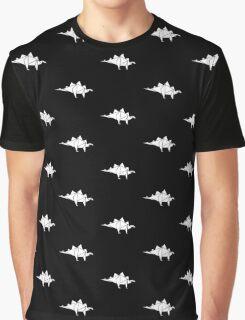 Prehistoric Origami - Stegosaurus Graphic T-Shirt