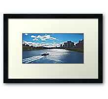 Brisbane City Cat  Framed Print