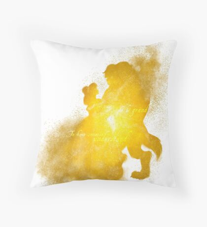 It Might Be Grand Throw Pillow