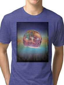 The Gentlemen Broncos Movie - Moon Fetus Tri-blend T-Shirt