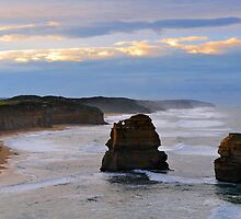 Gibson Steps. Port Campbell National Park, Victoria, Australia. (3) by Ralph de Zilva