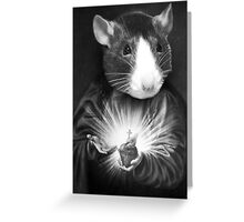GOD MOUSE SWAGTEES#03 Greeting Card