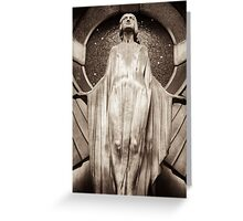 oracle contemplates Greeting Card