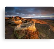 Stanage Canvas Print