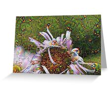 Daisy Machine Dreams Greeting Card