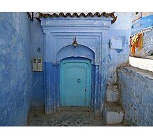The Blue Corner Photographic Print