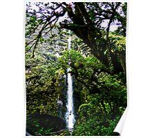 El Chorro Waterfalls Of Giron Poster