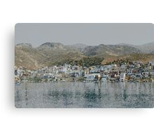 Greek Lush Canvas Print
