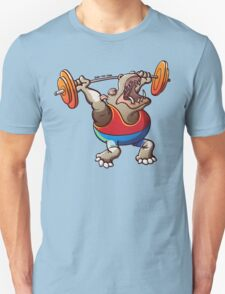 Olympic Weightlifting Hippopotamus T-Shirt