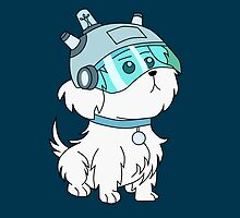 Snuffles/Snowball (Rick and Morty)  by RetroPops