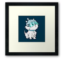 Snuffles/Snowball (Rick and Morty)  Framed Print