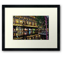 Bourke Street Mall Framed Print