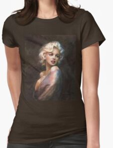 Marilyn WW Romantic Soft Womens Fitted T-Shirt