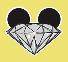 Diamond Ears BW Kids Tee