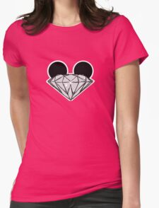 Diamond Ears BW Womens T-Shirt