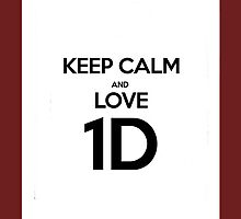 KEEP CALM AND LOVE 1D by jennersx