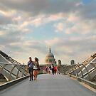 We walk this city by Irina Chuckowree