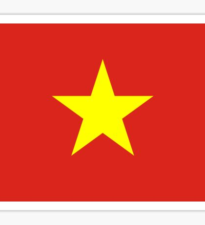 I Love Vietnam - Flag Vietnamese Sticker T-Shirt Duvet Sticker