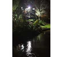 Riverside By Night Photographic Print