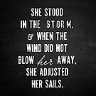 She Stood In The Storm... by myoriginalsin