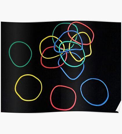 Elastic Bands - Challenge Fun Poster